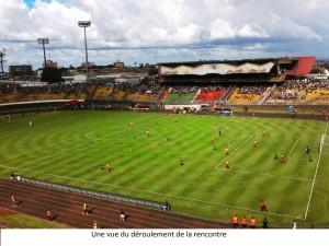 déroulement match stade omnisports yaoundé
