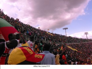 supporters lions indomptables