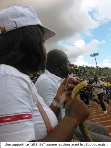 supportrice lions indomptables