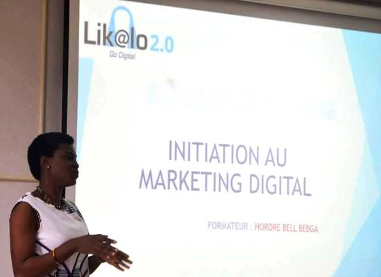 Horore BEBGA la formatrice en marketing digital