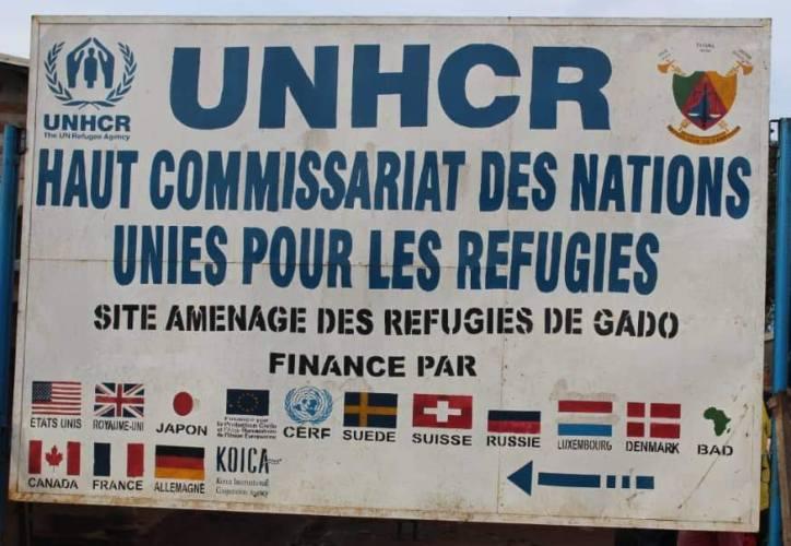 Site de réfugiés Gado-Badzere