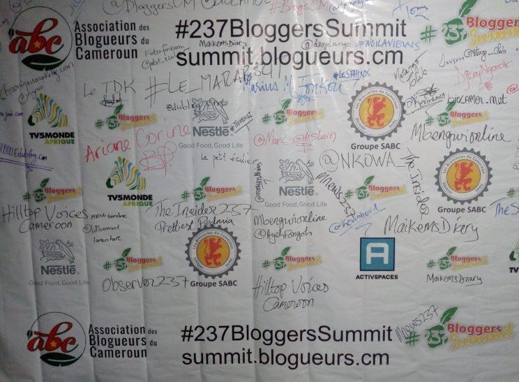 Sommet des blogueurs du Cameroun